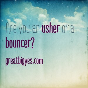 blog usher bouncer