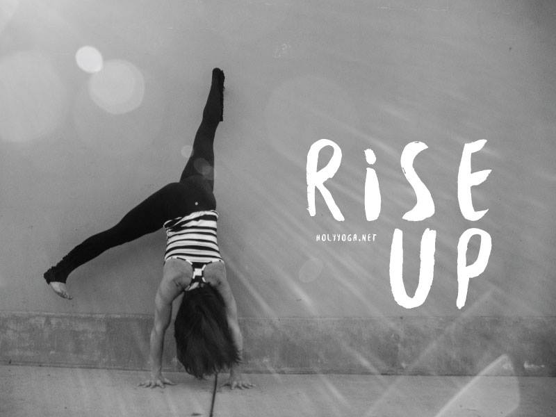 rise up holy yoga